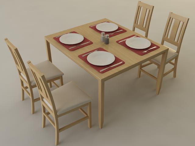 kitchen table kitchen table kitchen table plutonius 3d affordable models