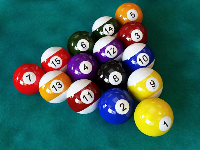 Pool Ball Starter Set Vray Pool Ball Starter Set Vray