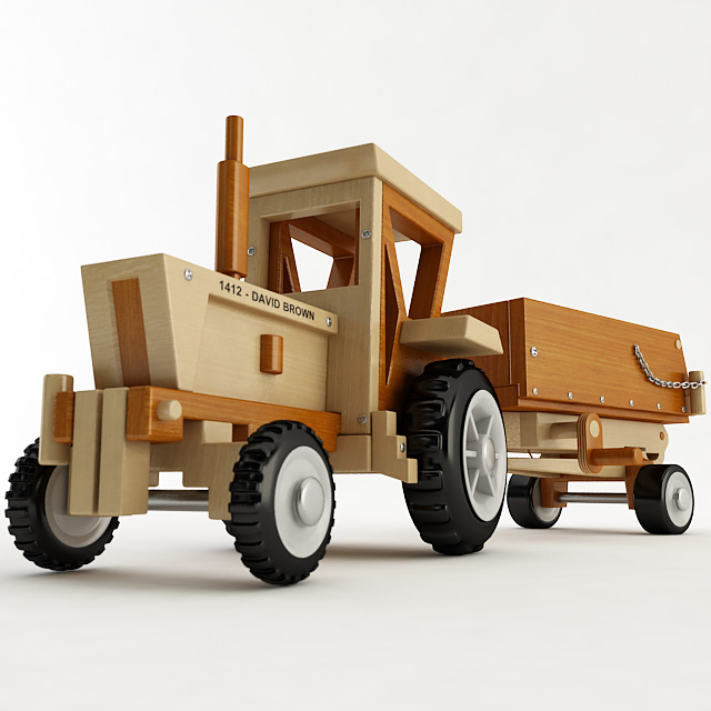 Toys Tractor Trailer 76