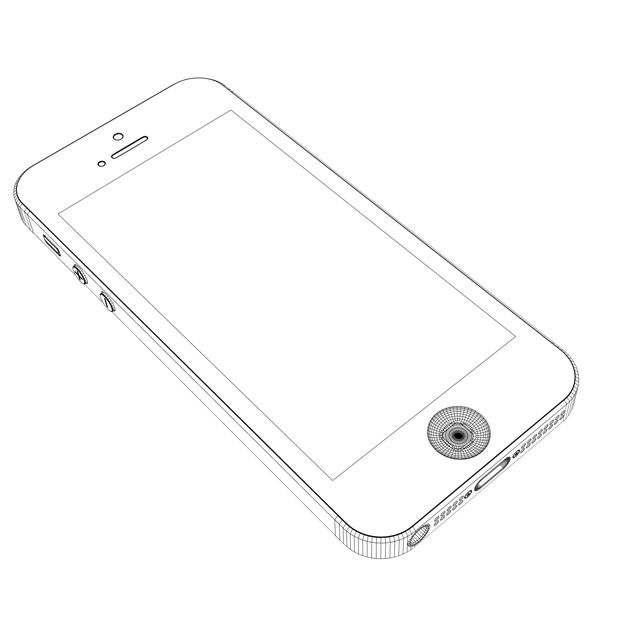Free coloring pages of iphone 6 for Iphone 5 coloring pages